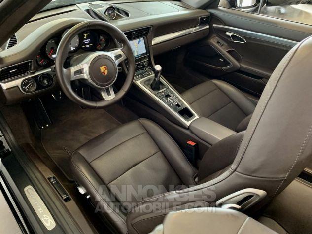 Porsche 991 911 type 991 CARRERA 4S CABRIOLET BVM7 FULL Noir métallisé Occasion - 13