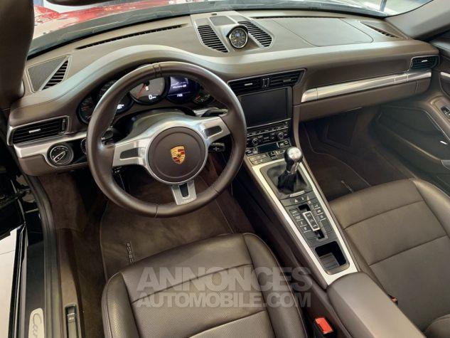 Porsche 991 911 type 991 CARRERA 4S CABRIOLET BVM7 FULL Noir métallisé Occasion - 15