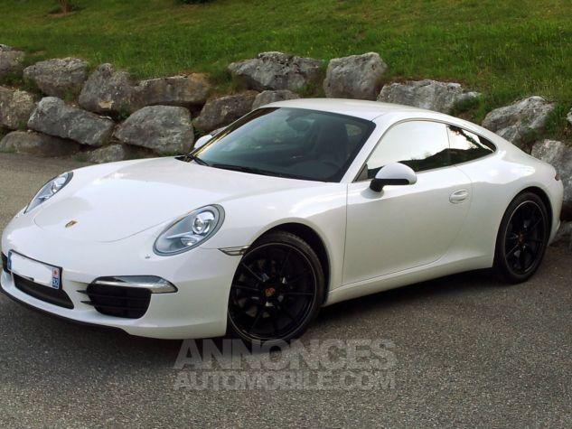 Porsche 991 Carrera Blanc Carrar Occasion - 0