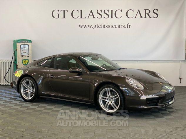 Porsche 991 Carrera 4 - GTC105  Anthracite Brown Metallic Occasion - 3