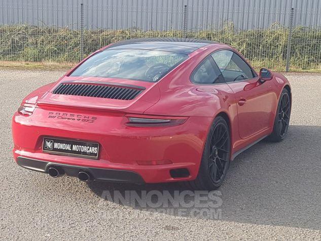 Porsche 991 CARRERA 4 GTS 450 CH PDK 1ERE MAIN ROUGE CARMIN Occasion - 4