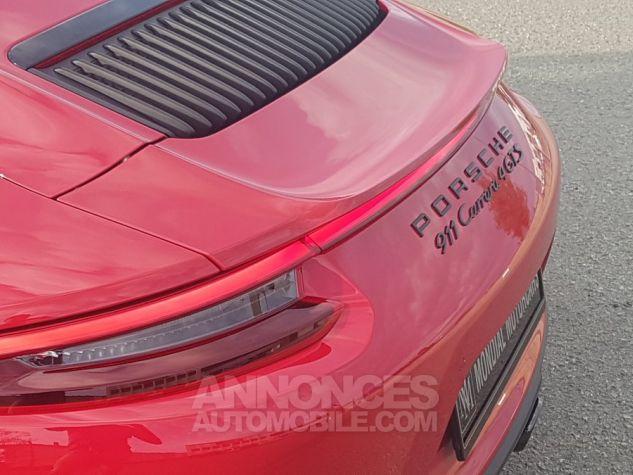 Porsche 991 CARRERA 4 GTS 450 CH PDK 1ERE MAIN ROUGE CARMIN Occasion - 6