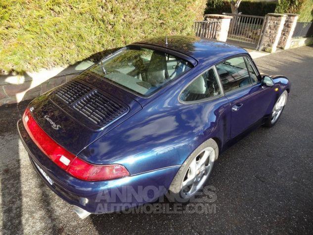 Porsche 993  2 S Bleu Ocean Occasion - 1