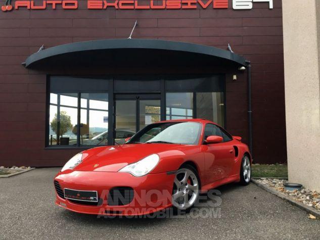 Porsche 996 911 type 996 TURBO 420 PORSCHE EXCLUSIVE Rouge Indien Occasion - 0