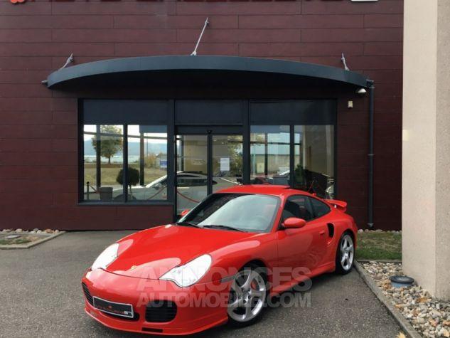 Porsche 996 911 type 996 TURBO 420 PORSCHE EXCLUSIVE Rouge Indien Occasion - 1