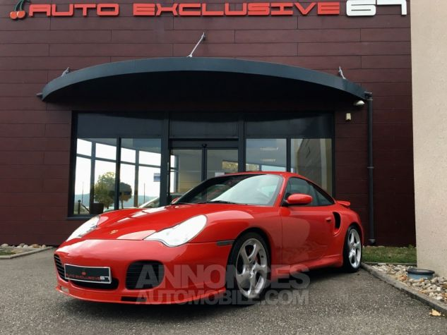 Porsche 996 911 type 996 TURBO 420 PORSCHE EXCLUSIVE Rouge Indien Occasion - 3