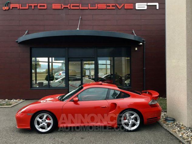 Porsche 996 911 type 996 TURBO 420 PORSCHE EXCLUSIVE Rouge Indien Occasion - 4