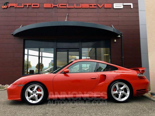 Porsche 996 911 type 996 TURBO 420 PORSCHE EXCLUSIVE Rouge Indien Occasion - 5