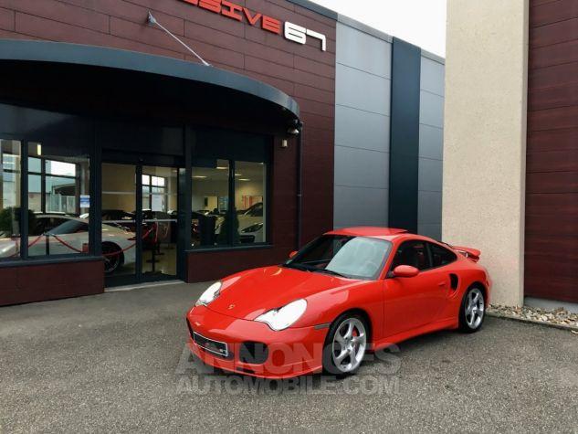 Porsche 996 911 type 996 TURBO 420 PORSCHE EXCLUSIVE Rouge Indien Occasion - 6