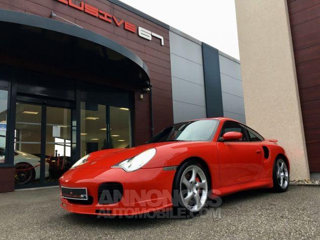 Porsche 996 911 type 996 TURBO 420 PORSCHE EXCLUSIVE Rouge Indien Occasion - 7