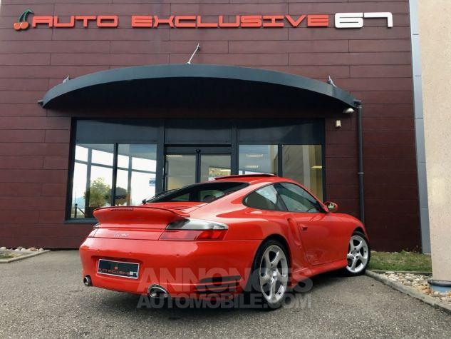 Porsche 996 911 type 996 TURBO 420 PORSCHE EXCLUSIVE Rouge Indien Occasion - 8