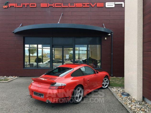 Porsche 996 911 type 996 TURBO 420 PORSCHE EXCLUSIVE Rouge Indien Occasion - 9