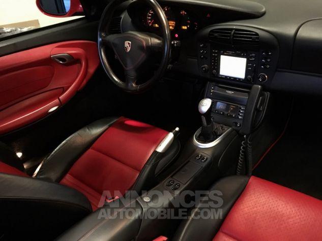 Porsche 996 911 type 996 TURBO 420 PORSCHE EXCLUSIVE Rouge Indien Occasion - 14