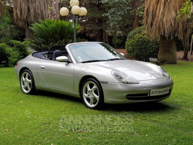 Porsche 996 CARRERA 4 CABRIOLET GRIS ARTIC METALLISE Occasion - 0