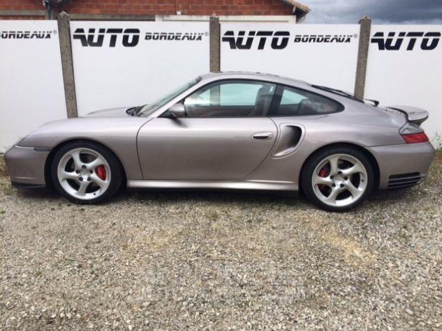Porsche 996 turbo tiptronic gris medidien Occasion - 2