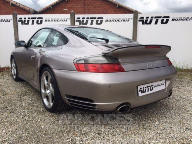 Porsche 996 turbo tiptronic gris medidien Occasion - 5