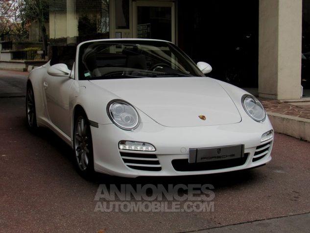 Porsche 997 4S TARGA CABRIOLET PDK BLANC Occasion - 1