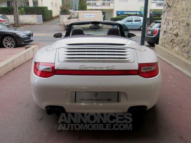 Porsche 997 4S TARGA CABRIOLET PDK BLANC Occasion - 11