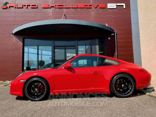 Porsche 997 911 type 997 CARRERA 4S COUPE 385 PDK Rouge Indien Occasion - 6