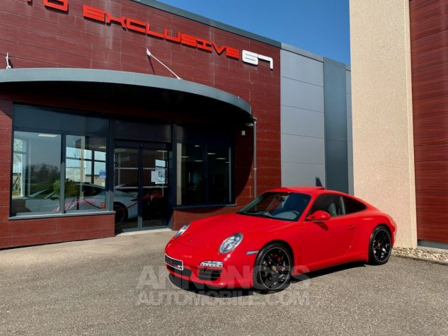 Porsche 997 911 type 997 CARRERA 4S COUPE 385 PDK Rouge Indien Occasion - 7
