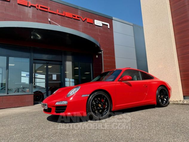 Porsche 997 911 type 997 CARRERA 4S COUPE 385 PDK Rouge Indien Occasion - 8