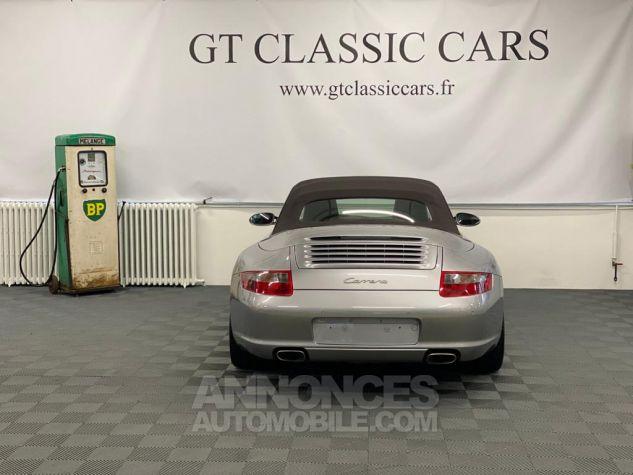 Porsche 997 Carrera Cabriolet Gris Arctique Occasion - 5