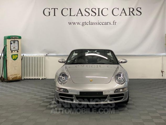 Porsche 997 Carrera Cabriolet Gris Arctique Occasion - 32