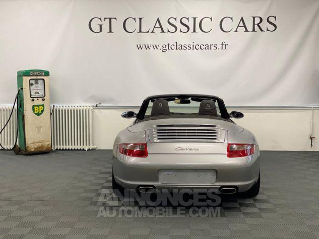 Porsche 997 Carrera Cabriolet Gris Arctique Occasion - 35