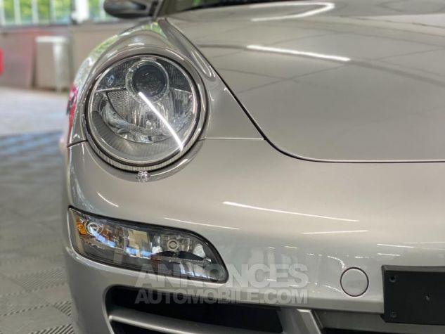 Porsche 997 Carrera Cabriolet Gris Arctique Occasion - 44