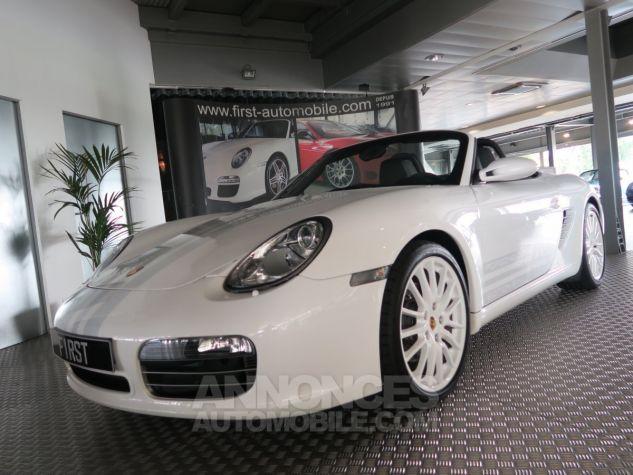 Porsche Boxster Porsche boxster s 987 design edition 2 500ex 303cv BLANC  Occasion - 1
