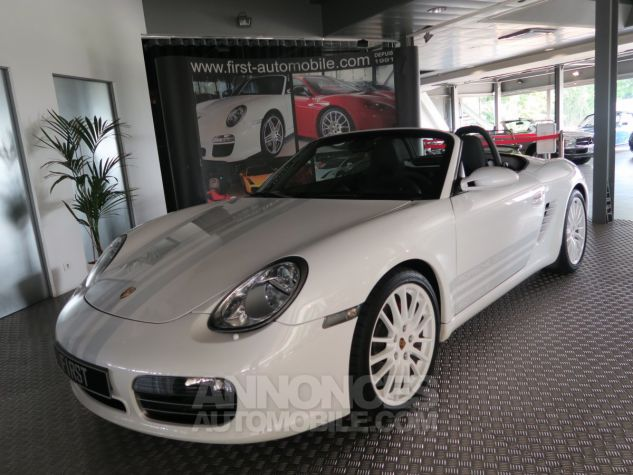 Porsche Boxster Porsche boxster s 987 design edition 2 500ex 303cv BLANC  Occasion - 4