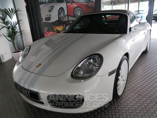 Porsche Boxster Porsche boxster s 987 design edition 2 500ex 303cv BLANC  Occasion - 10