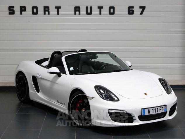 Porsche Boxster S Blanc Carrara Occasion - 0