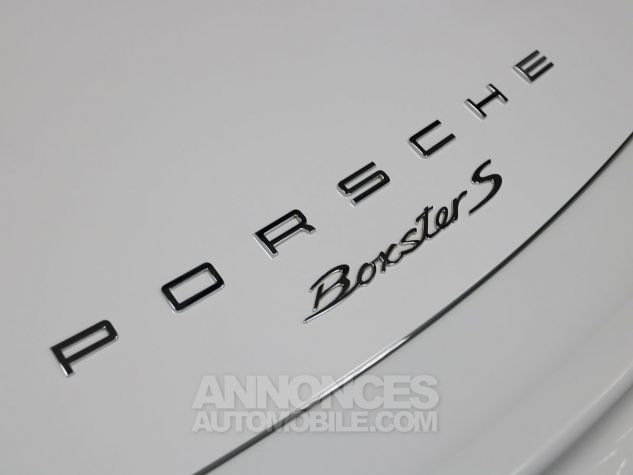 Porsche Boxster S Blanc Carrara Occasion - 19