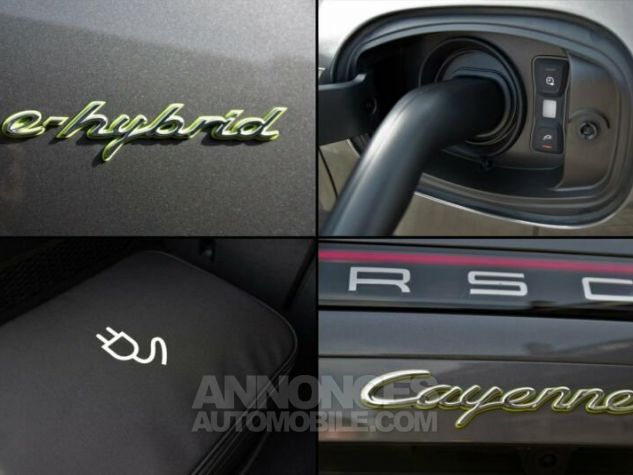 Porsche Cayenne CAYENNE E HYBRIDE 462CV GRIS QUARTZ Occasion - 11