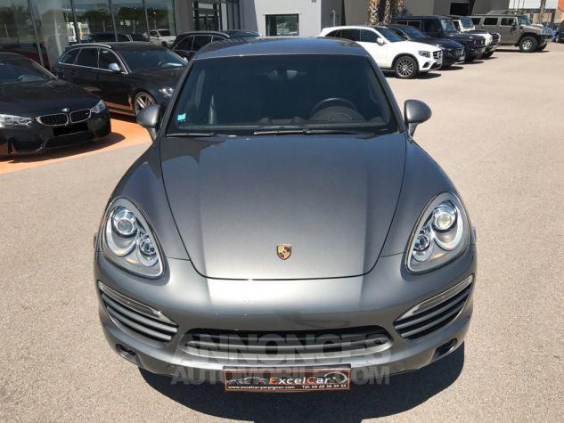 Porsche Cayenne II Diésel 245 Gris Méteor métal Occasion - 3