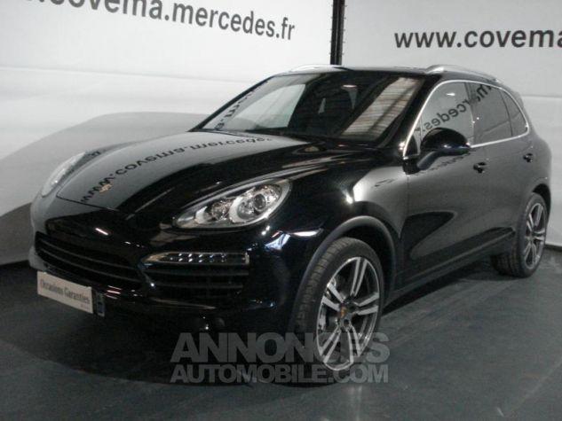 Porsche Cayenne S Diesel noir intense métallisé Occasion - 0