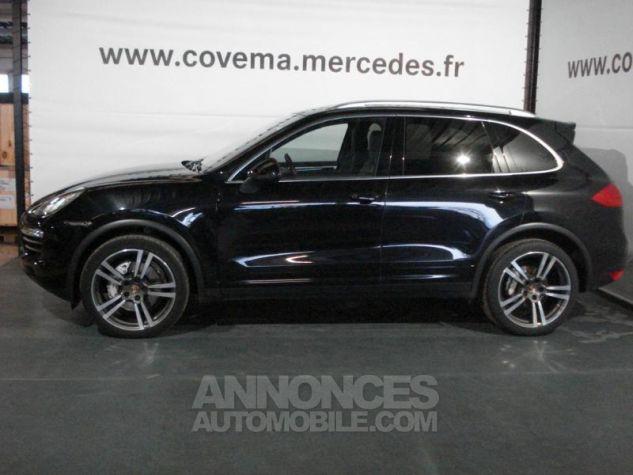 Porsche Cayenne S Diesel noir intense métallisé Occasion - 1