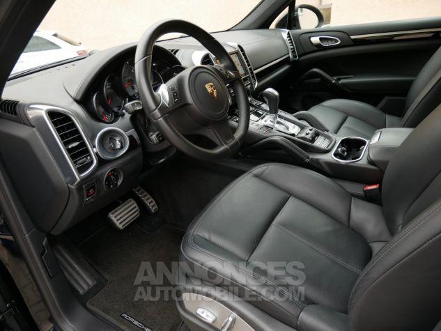 Porsche Cayenne S Diesel, Caméra, Attelage, Angle mort, Suspension Pneumatique Noir Intense métallisé Occasion - 5