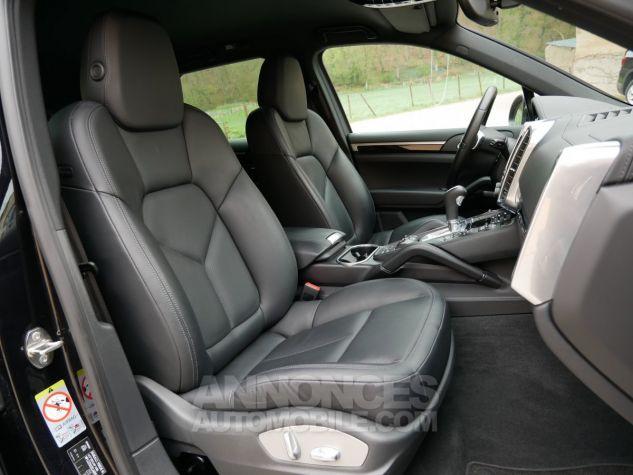 Porsche Cayenne S Diesel, Caméra, Attelage, Angle mort, Suspension Pneumatique Noir Intense métallisé Occasion - 8