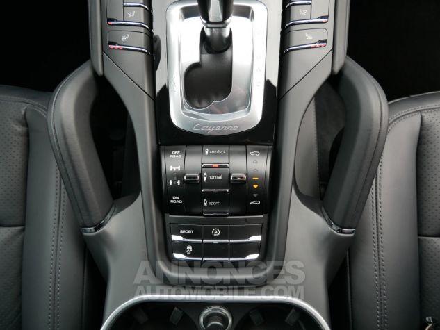 Porsche Cayenne S Diesel, Caméra, Attelage, Angle mort, Suspension Pneumatique Noir Intense métallisé Occasion - 16