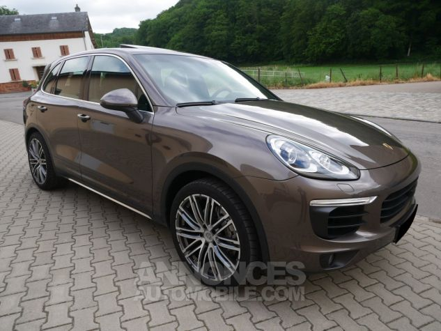 Porsche Cayenne S, Toit ouvrant, ACC, Keyless, Burmester, Caméra Terre d'Ombre métallisé Occasion - 2