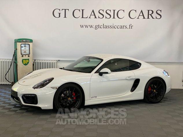 Porsche Cayman 981 GTS Blanc Blanc Occasion - 1