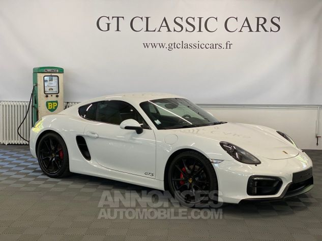 Porsche Cayman 981 GTS Blanc Blanc Occasion - 3
