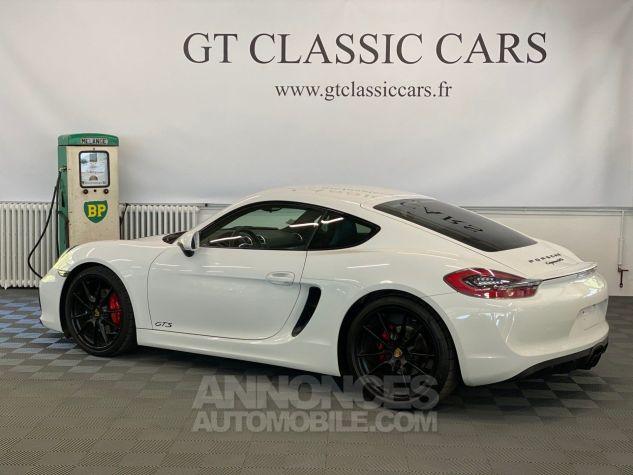 Porsche Cayman 981 GTS Blanc Blanc Occasion - 4