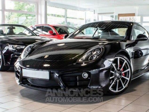 Porsche Cayman II TYPE 981 Noir métallisé Occasion - 1