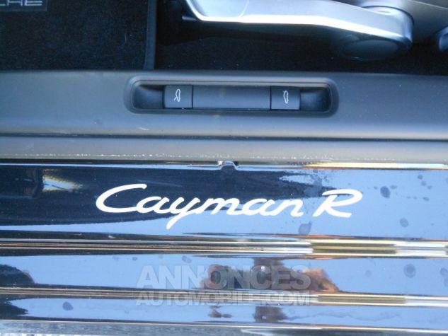 Porsche Cayman R PDK 330CV NOIRE Neuf - 8