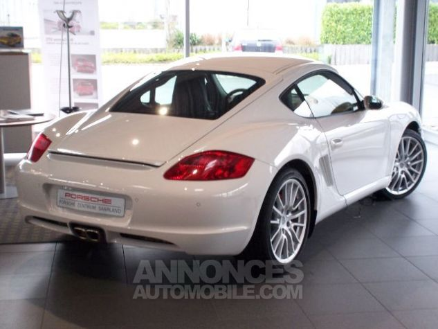 Porsche Cayman S Blanc  Occasion - 1