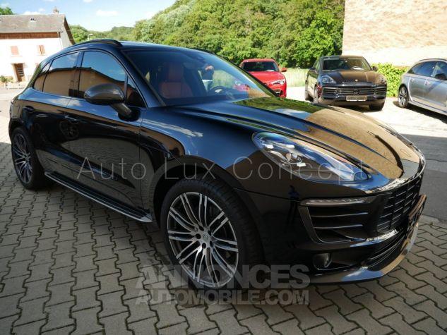 Porsche Macan  Toit pano, Pack Chrono, ACC, Caméra 360°, Burmester, Écrans AR Noir Occasion - 1