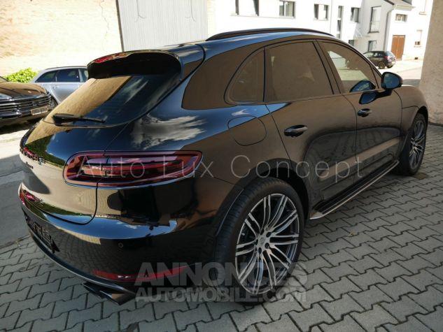 Porsche Macan  Toit pano, Pack Chrono, ACC, Caméra 360°, Burmester, Écrans AR Noir Occasion - 2
